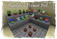 มอด จิตรกรดอกไม้ หรือ Mod Painter's Flower Pot 1.6.4/1.6.2/1.5.2