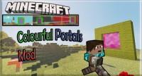 มอด ประตูพอร์ทัล หรือmod Colourful Portals 1.6.4/1.6.2