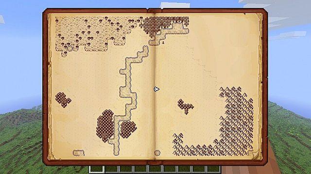 มอด หนังสือแผนที่ หรือ Mod Antique Atlas 1.7.2/1.6.4/1.6.2 ...