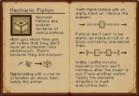 มอด กลไกไฮเทค หรือ Mod Pistronics สำหรับ 1.6.4 เท่านั้น (3)