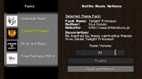 มอด ระเบิดบล็อกผลึกแก้วลารา หรือ Mod Battle Music