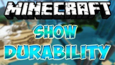 มอด แสดงพลังItem Mod Show Durability (1)