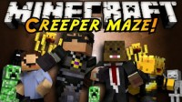 Map Infinite Creeper Maze (1)