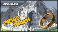 Map Minas Tirith – Lord of the Rings