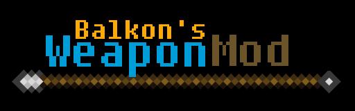 Mod Balkon's Weapon