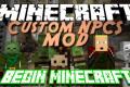 มอด สร้างNPC Mod Custom NPCs